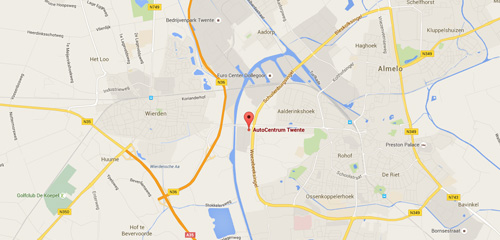 AutoCentrum Twente - Route